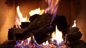 crackling log fireplace burning relaxing 9 hour fire video for