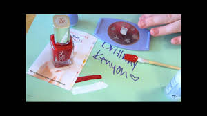 salon express nail stamp tutorial youtube