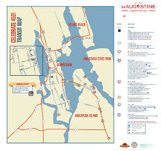 St Augustine Map Sept 3 8 Everything You Need To Know About St Augustine U0027s 450th