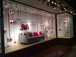 black friday inspiration for furniture store display windows