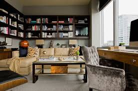 high end couches home office transitional with yellow couch