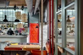 restaurant cuisine ouverte restaurant avec la cuisine ouverte photo stock image du rideau