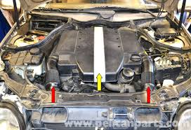 mercedes benz w203 radiator replacement 2001 2007 c230 c280
