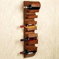 Unusual Wine Bottles Unique Wall Wine Rack U2013 Abce Us
