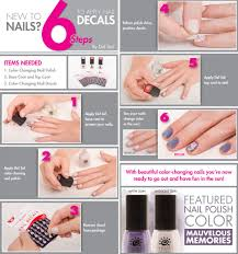 6 simple steps for applying nail decals del sol