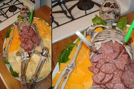 halloween vegetable skeleton 100 halloween platter ideas the 25 best meat platter ideas