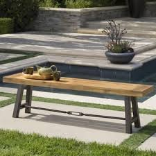 Rustic Bench Coffee Table Rustic Patio Furniture Outdoor Seating U0026 Dining For Less