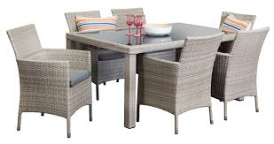 6 seater outdoor dining table wicker outdoor dining sets antibes 6 seater segals outdoor