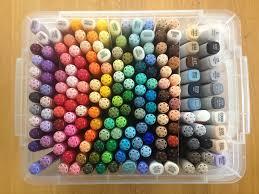my copic markers u2013 pannita