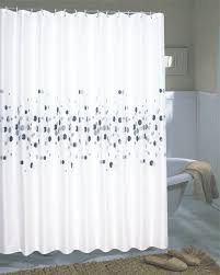 White Shower Curtains Fabric Modern Shower Curtains Fabric U2014 All Home Design Solutions Best