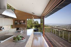 gorgeous open kitchen design at kentfield house overlooking great