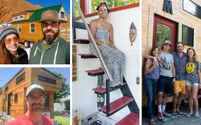 Tiny Home Square Footage Tiny Houses Are Big Meet The People Who Traded Square Footage For