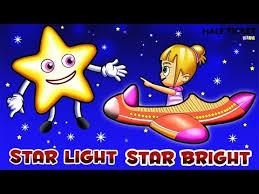 Star Light Star Bright Lyrics Star Light Star Bright Nursery Rhymes Songs With Lyrics
