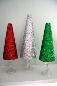 diy glitter christmas trees a dash of megnut