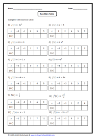 ratio tables worksheets with answers function table prealgebra ideas pinterest math algebra and