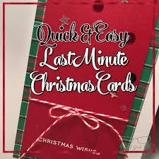 quick u0026 easy last minute christmas cards u2013 the artful geek