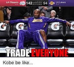 La Clippers Memes - la clippers iippers lac 27 44 36 33 94 la lakers 43 20 lal 29 13