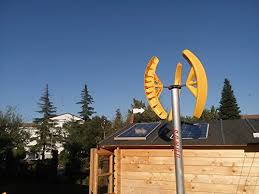 Small Wind Turbines For Home - small vertical axis wind turbine generator smart wind 750 darrius