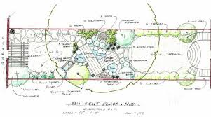how to draw landscape design plot plans google search