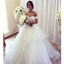 Custom Made Wedding Dress Wedding Dress Styles 2017 New Design Sweetheart Beaded Handmade