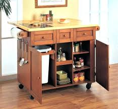 rolling islands for kitchens kitchen island on wheels ideas partum me