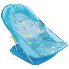 siège de bain pour bébé transat de bain de luxe pour bébé splash de summer infant bleu