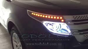 Ford Explorer Headlights - headlights ford explorer 2015 youtube