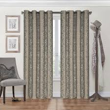 Eclipse Curtains Thermalayer by Amazon Com Eclipse 12996052084blk Nadya 52 Inch By 84 Inch