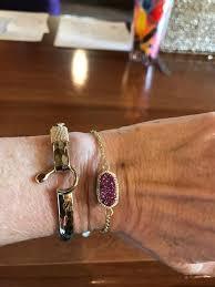 adjustable bracelet chain images Elaina adjustable gold bracelet gray slate kendra scott