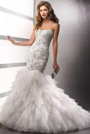wedding dress with bling mermaid tulle wedding dress with bling elite wedding looks