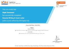 Resume Writing Classes Online by Resume Writing Online Resume Writing Course Ion Digital