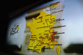 Paris France On A Map by How To Watch The 2017 Tour De France On Sbs