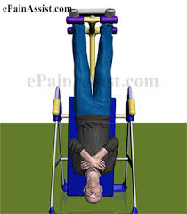 inversion table herniated disc inversion therapy for back pain benefits frequency contraindications