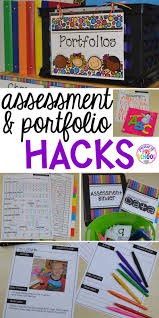 student portfolio and assessment organization hacks pocket of