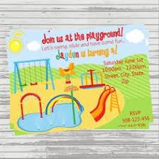 splash pad invitations water park birthday by pinkpickleparties