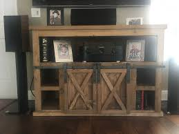 sliding barn door tv stand with fireplace u2013 delta 13