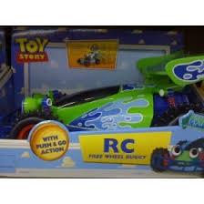 toy story free wheeling rc car amazon uk toys u0026 games