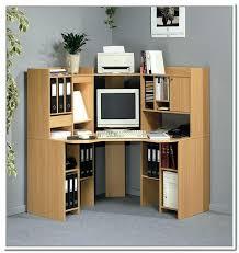 Corner Computer Desk With Shelves Corner Desks With Shelves Ccode Info