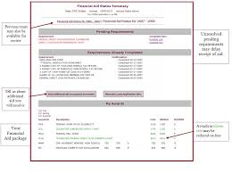 electronic financial aid notification process tutorial central