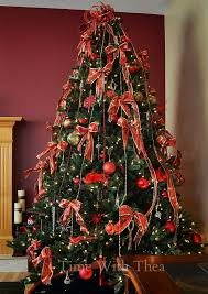 how to decorate a tree step by step photo tutorial