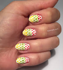 lithuanian flag nail art nails daily
