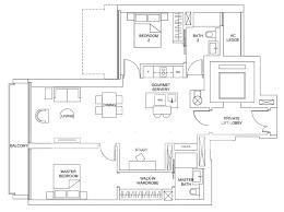 one floor plan marina one residences