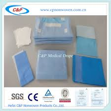 Disposable Drapes Disposable Sterile Sms Orthopedic Surgical Drapes Packs