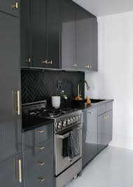 Best  High Gloss Kitchen Cabinets Ideas On Pinterest Gloss - Black lacquer kitchen cabinets