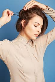 cropped hairstyles with wisps in the nape of the neck for women any woman who has ever contemplated