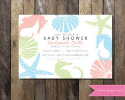 the sea baby shower invitations the sea themed baby shower ideas baby shower ideas