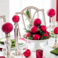 Decoration Table Christmas by 60 Elegant Table Centerpiece Ideas For Christmas Family Holiday