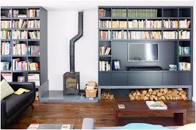 Console Bookshelves by Decorations Modern Black Metal Wood Fireplace Chimney Also