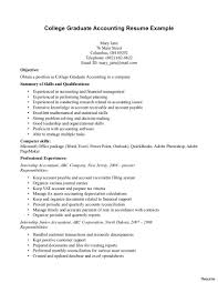 exle of college resume sle curriculum vitae for accountants sle accountant resume