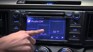2013 rav4 standard display audio aux input youtube